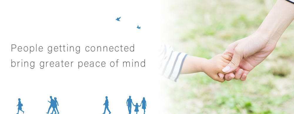 People getting connected bring greater peace of mind